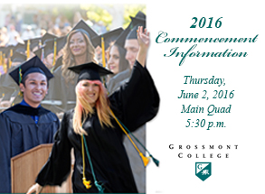Commencement 2016 Information