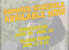 Summer Schedule Now Available!